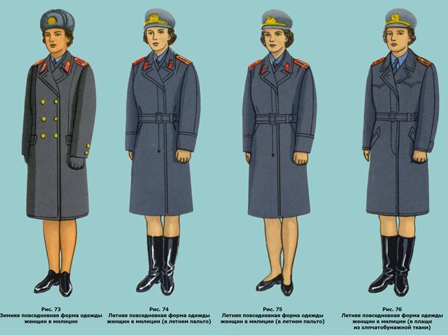 Женская Форменная Одежда Полиции