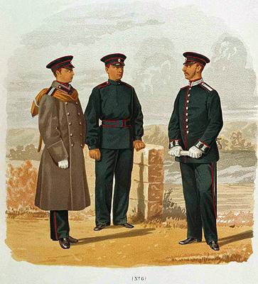 Учащиеся учебных заведений военно