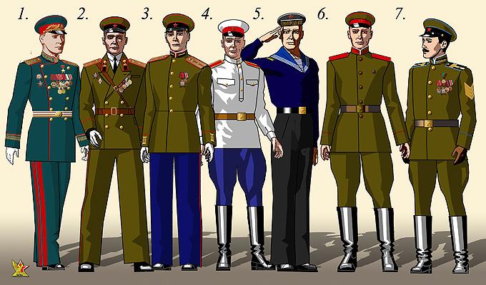 Армия парадная форма одежды для